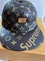 LOUIS VUITTON x Supreme Monogram Cap Virgil Abloh Monogram Box Logo Bogo cap hat