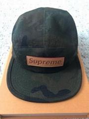 X                  Camouflage Monogram Box Logo Bogo Camp Cap Hat CAMO