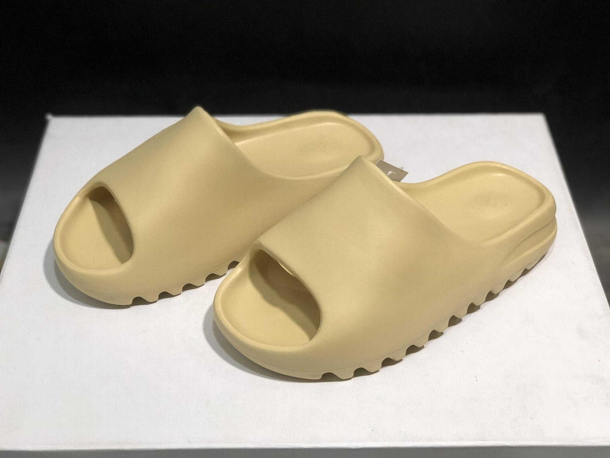 adidas Yeezy Slide Bone KANYE WEST slide cheap yeezy slipper
