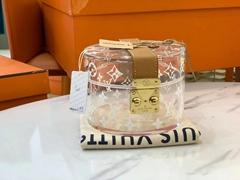 Box Scott    GI0203 Plexiglass Monogram House trunks    PVC BOX