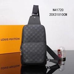 Louis Vuitton Avenue Sling Bag N41720 Men women LV fashion luxury bags cheap