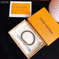 Louis Vuitton LV Confidential Bracelet M6334E Monogram canvas strap luxury sale
