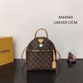 Louis Vuitton LV Moon Backpack M44944 Monogram Smooth calfskin leather Padlock