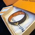 Louis Vuitton LV Essential V Bracelet M6042E Monogram Canvas strap Distinctive V