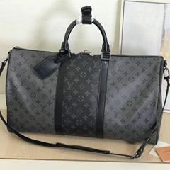 Keepall Bandoulière 50    M45392 shop designer travel handbag mens