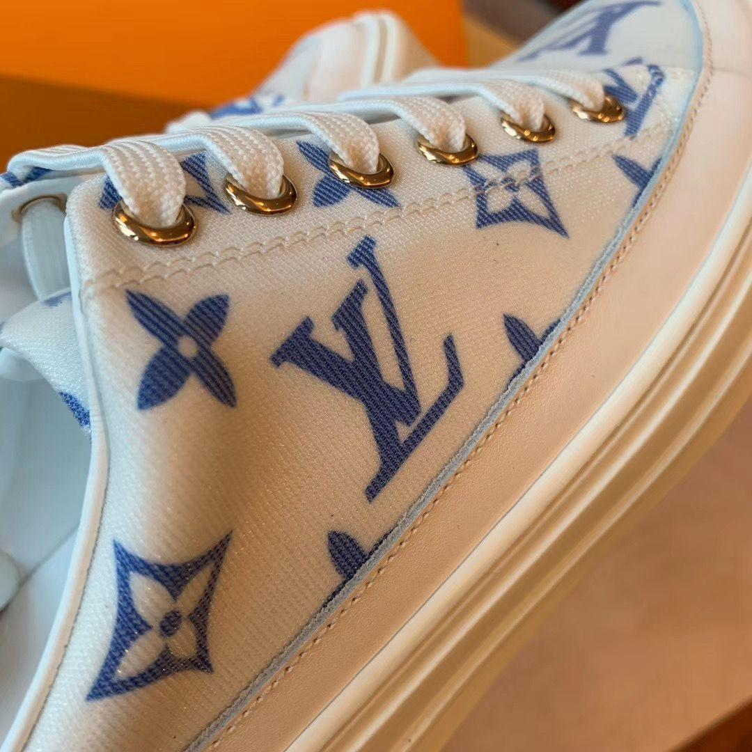 Louis Vuitton LV Stellar Open Back Sneaker 1A65YN slipper LV fashion luxury shoe