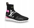 Louis Vuitton Aftergame Sneaker Boot LV 1A6675 lightweight LV Initials hi-top