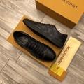 Louis Vuitton LV Match-Up Sneaker 1A2R4S Monogram Eclipse canvas men women shoes