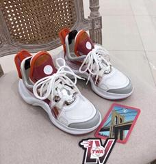 Archlight Sneaker 1A65RC Monogram canvas    Circle logo brand shoe