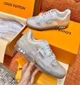 Louis Vuitton LV Trainer Virgil Abloh Sneaker 1A5YQY Transparent fashion shoes