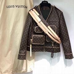 Monogram Admiral Jacket    1A5Q6E belt leather biker jackets men