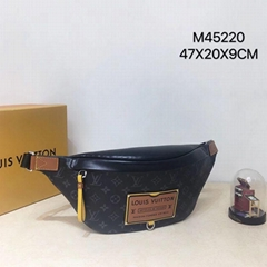 LV Discovery Bumbag Louis Vuitton M45220 Monogram Eclipse canvas belt bag sale
