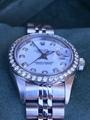 Rolex Lady Datejust 79174 Steel 26mm White Diamond Dial Diamond Bezel 8