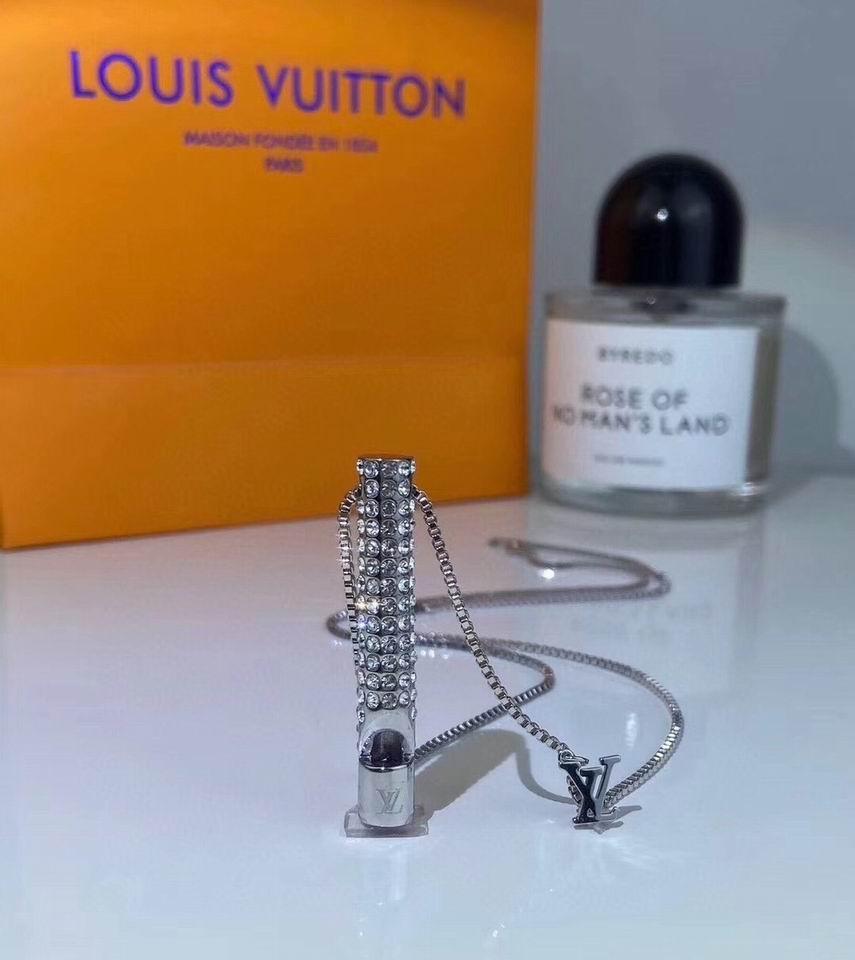 LV Whistle Necklace Men
