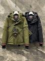 men down coat Olives Fashion zipped
