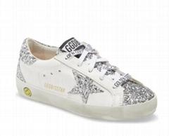 GOLDEN GOOSE Super-Star Glitter Sneaker Women ggdb leather sneaker