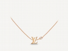 IDYLLE BLOSSOM    PENDANT PINK GOLD AND DIAMOND Necklace