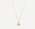 LV VOLT ONE SMALL PENDANT YELLOW GOLD AND DIAMOND