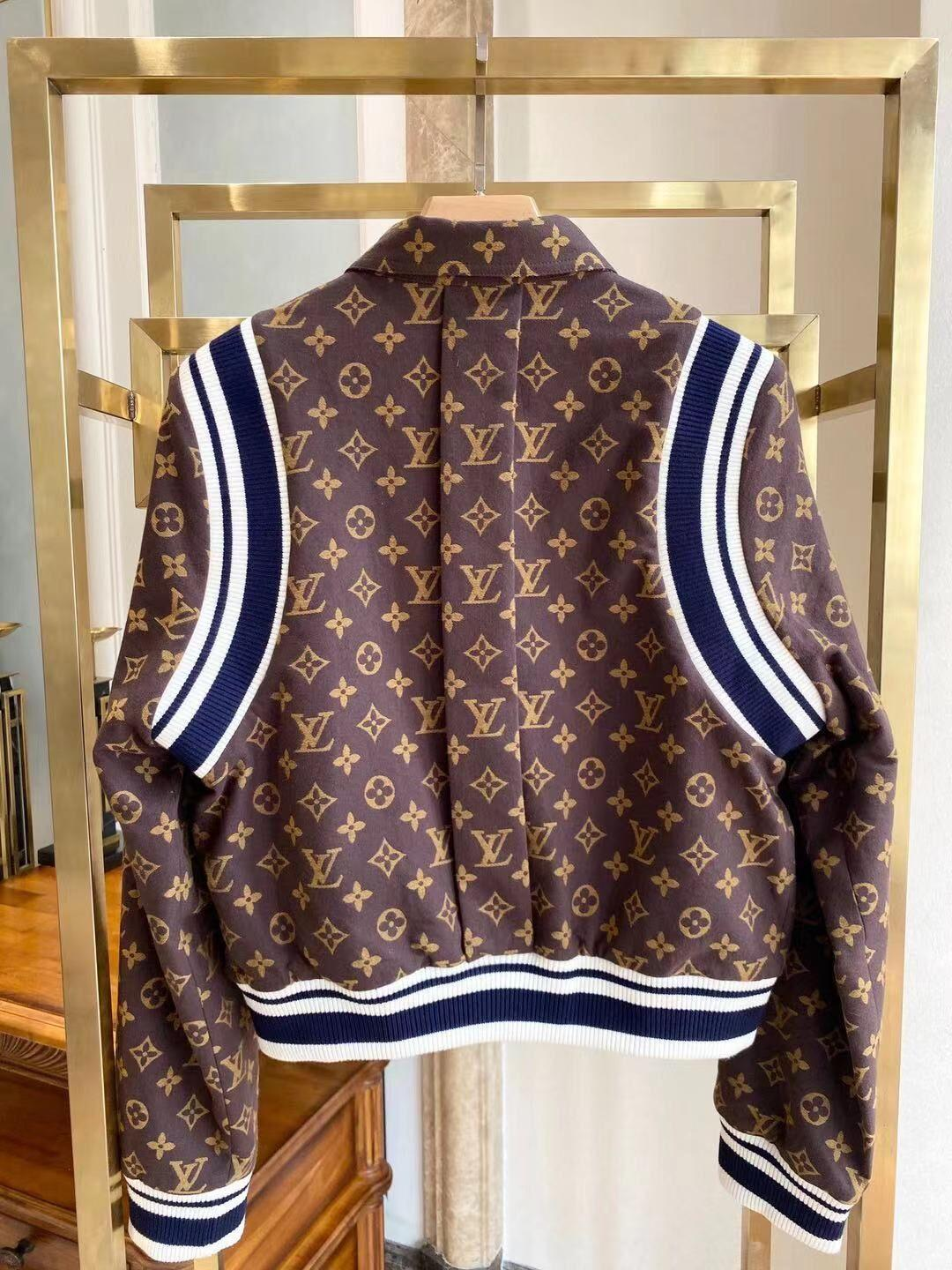 Louis Vuitton PAISLEY AND MONOGRAM REVERSIBLE WOOL BOMBER