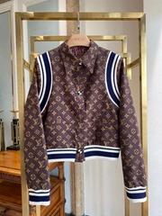 PAISLEY AND MONOGRAM REVERSIBLE WOOL BOMBER    Women Wool jackets  (Hot Product - 1*)