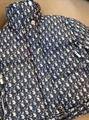 Dior monogram puffer coat