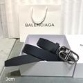 Balenciaga BB leather belt fashion buckle belt cheap belts