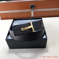 Tom Ford Signature T Buckle Reversible belt