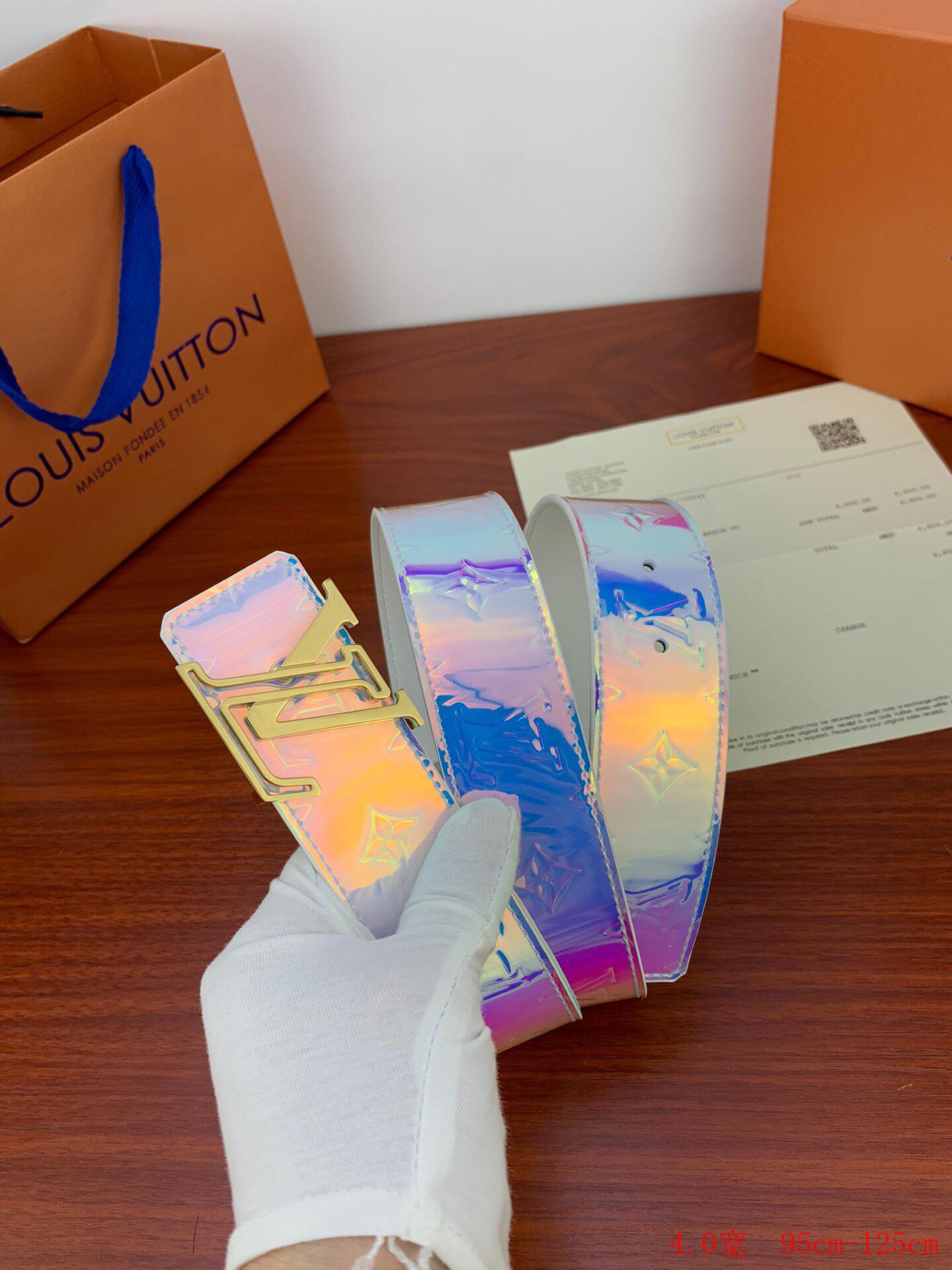 Louis Vuitton LV Shape Belt