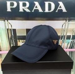 Nylon classic baseball cap men       metal logo cap hats