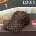 Louis Vuitton LV brown Monogram Baseball Cap Men Fashion adjustable hats
