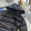 Louis Vuitton 1A83YK MONOGRAM JACQUARD HOODED DOWN JACKET