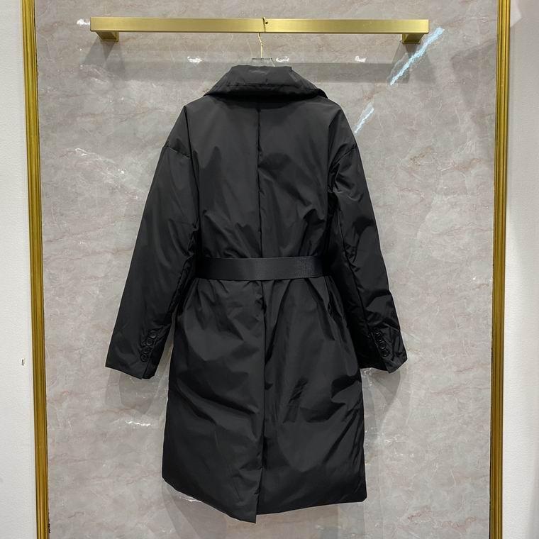 Prada Long padded down jacket women