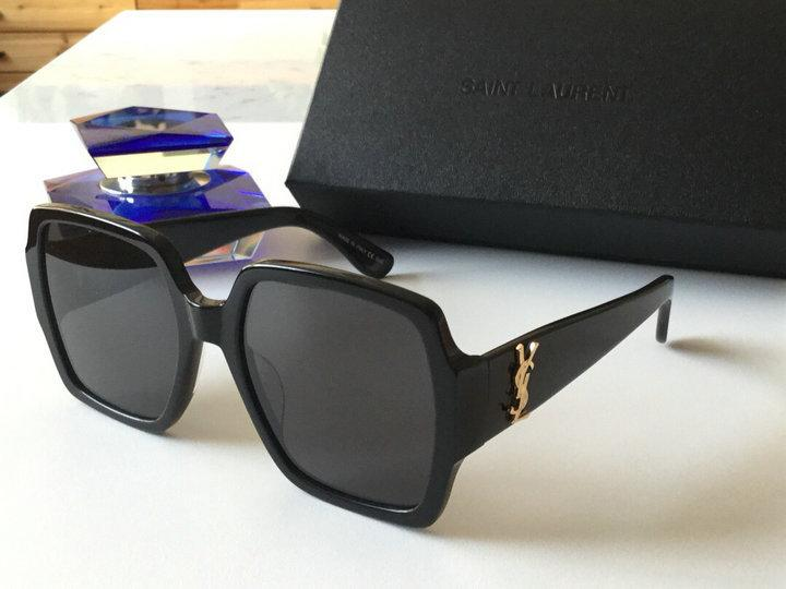 YVES SAINT LAURENT Black YSL Sunglasses SL Acetate Sunglasses fashion eyewear