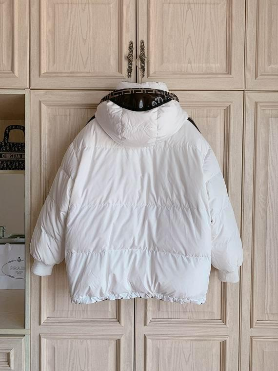FENDI FF-print reversible down filled puffer jacket