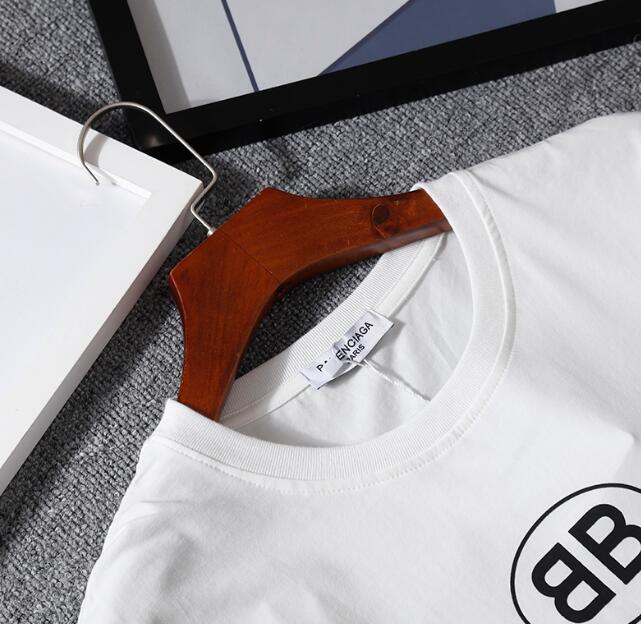 Balenciaga Black BB Mode Semi Fitted T-Shirt