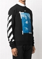 Off-White Mona Lisa graphic print sweatshirt