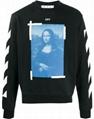 Off-White Mona Lisa graphic print