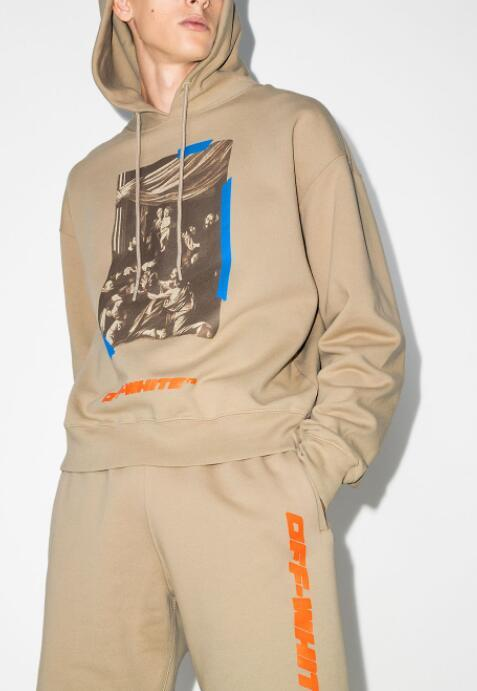 Off-White x Browns 50 Caravaggio cotton hoodie