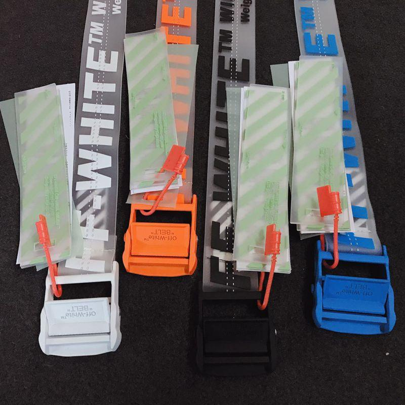 Off-White industrial logo belt cheap belt black men
