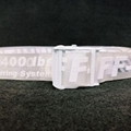 Off-White industrial logo belt cheap belt black men