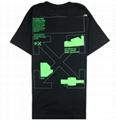 OFF-WHITE Arch Shapes T-shirt Black/Gree Men cheap cotton tee