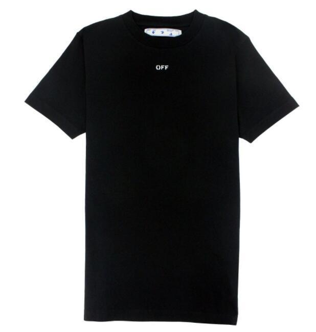 Off- White Stencil T Shirt Black/White