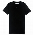Off- White Stencil T Shirt Black/White