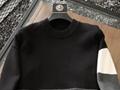 OFF-WHITE Color Block Off Crewneck Sweater