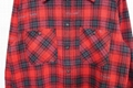 Off-White stencil arrow checked shirt jacket Off White men cotton red shirt