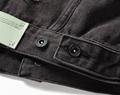Off-White Slim Denim Jacket with Fleece off white cotton jacket 12