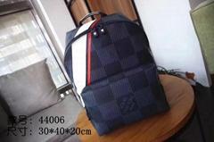 Louis Vuitton LV Damier Cobalt Canvas Mens America's Cup Apollo backpack