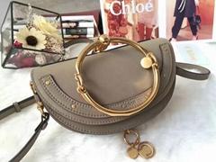 Nile Minaudiere mini leather shoulder bag       bracelet crossbody bags