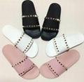 Valentino PVC Rockstud slide sandal