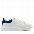 Alexander Mcqueen Raised sole low top leather trainers